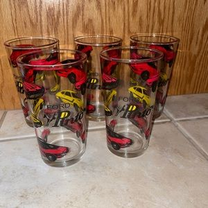 Vintage Ford Pinto Drinking Glasses